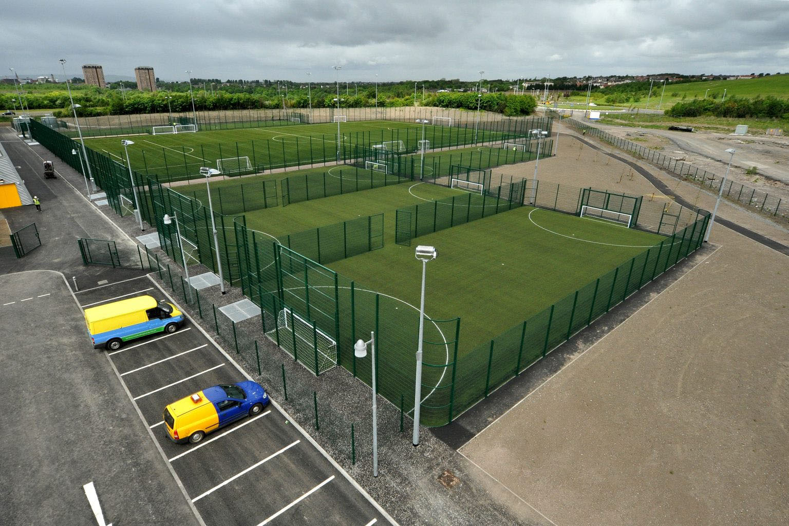 construction installations sportives-soccer 5